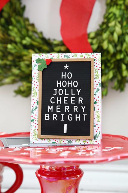 letterboard christmas tree (Ellen Hutson)
