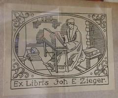 Penn Libraries 811W YMo.2 Whitman copy: Bookplate/Label