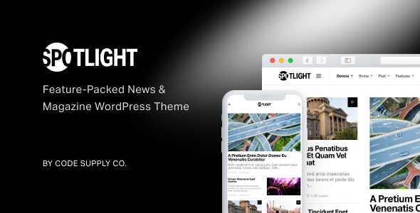 Spotlight v1.4.0 - Feature-Packed News & Magazine Theme