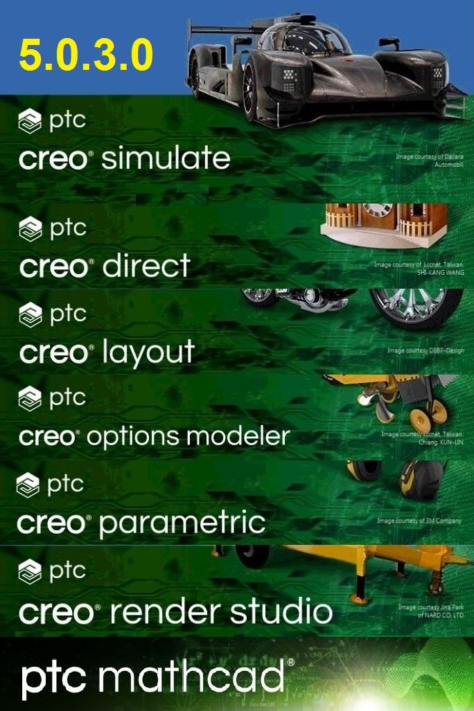 PTC Creo 5.0.3.0 X64 full license forever