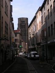 20080516 23613 0906 Jakobus Montbrison Turm Kirche Häuser - Photo of Chalain-d'Uzore