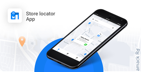 Store Locator Android App - Locate Store, Branches, ATM, Showrooms and many more