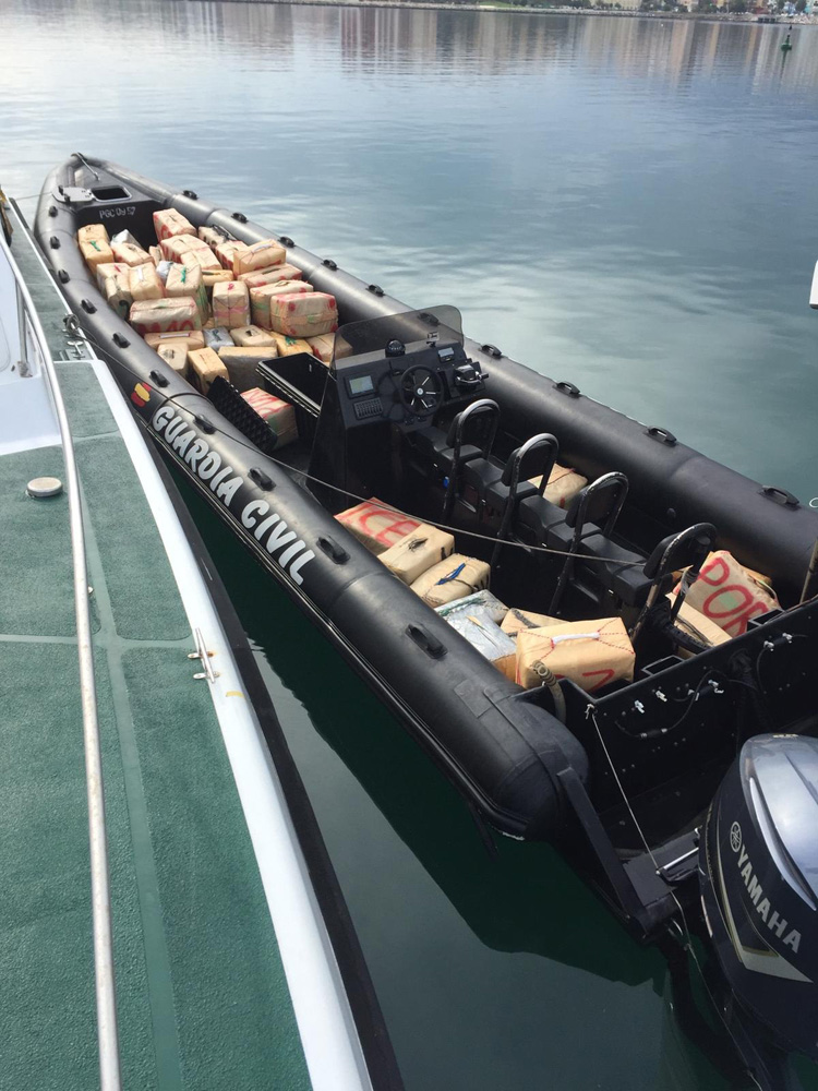 Embarcación 3 Toneladas hachís S. M1