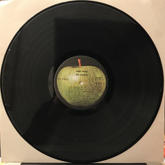 THE BEATLES:ABBEY ROAD(RECORD SIDE-A)