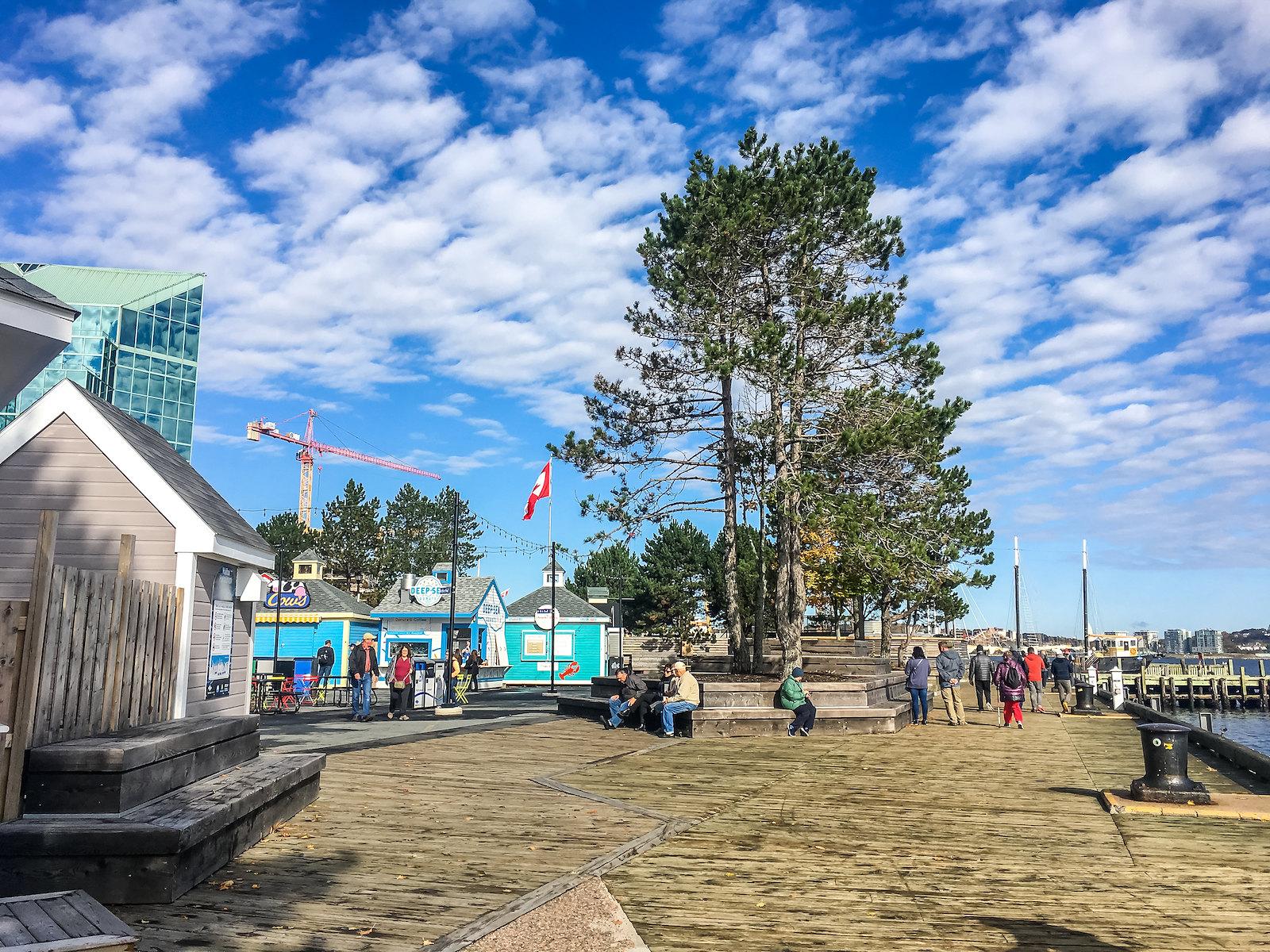 Halifax boardwalk