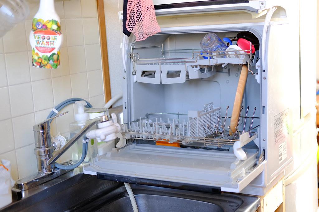 食洗機の設置例