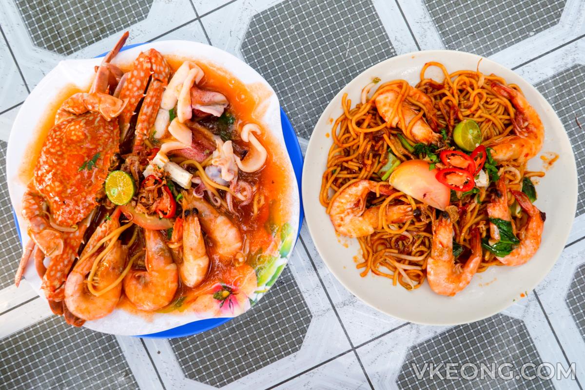 Pak-Tam-Mee-Udang-Mee-Seafood