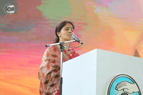 Telugu speech by Vijaya Laxmi, Hyderabad, TS