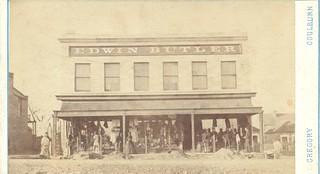 Edwin Butler Store, Goulburn circa approx 1860