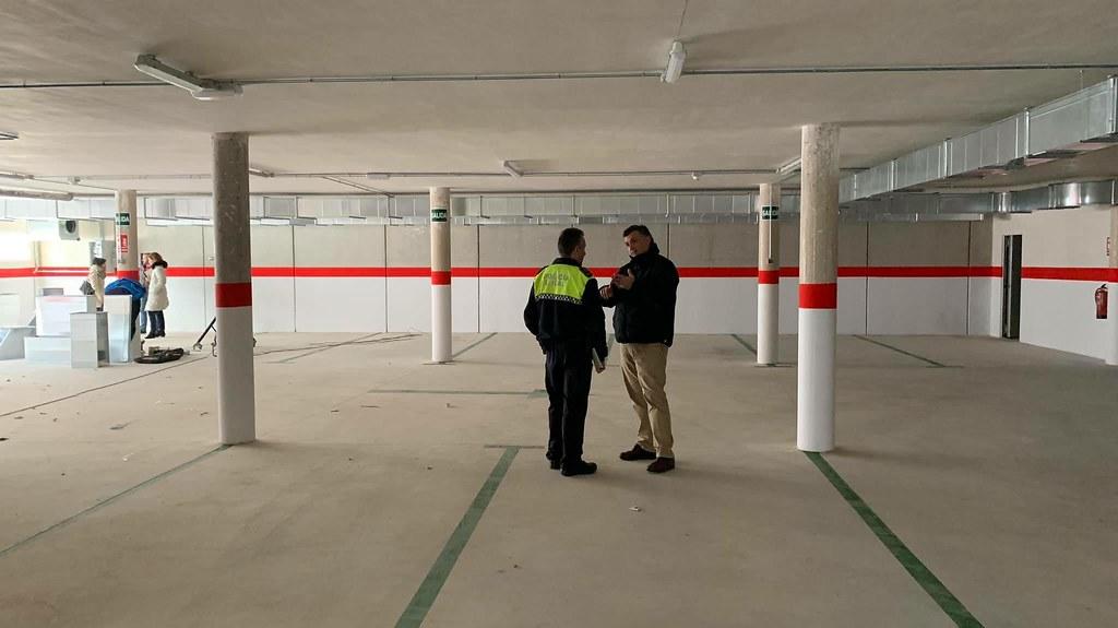 Finalizan las obras del parking subterráneo construido bajo la plaza del Dr. Viera