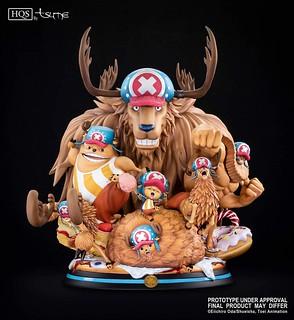 給你滿滿的喬巴!!Tsume-Art HQS 《航海王》「喬巴 七變化」雕像作品 !One Piece Tony Tony Chopper