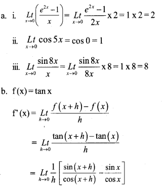 Plus One Maths Model Question Papers Paper 2A18