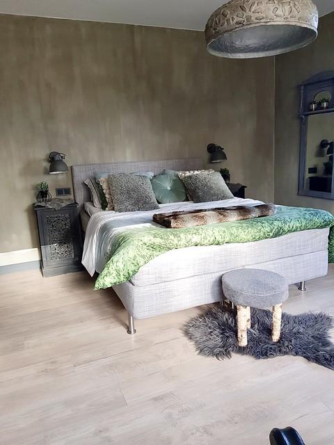 Slaapkamer landelijk stoer