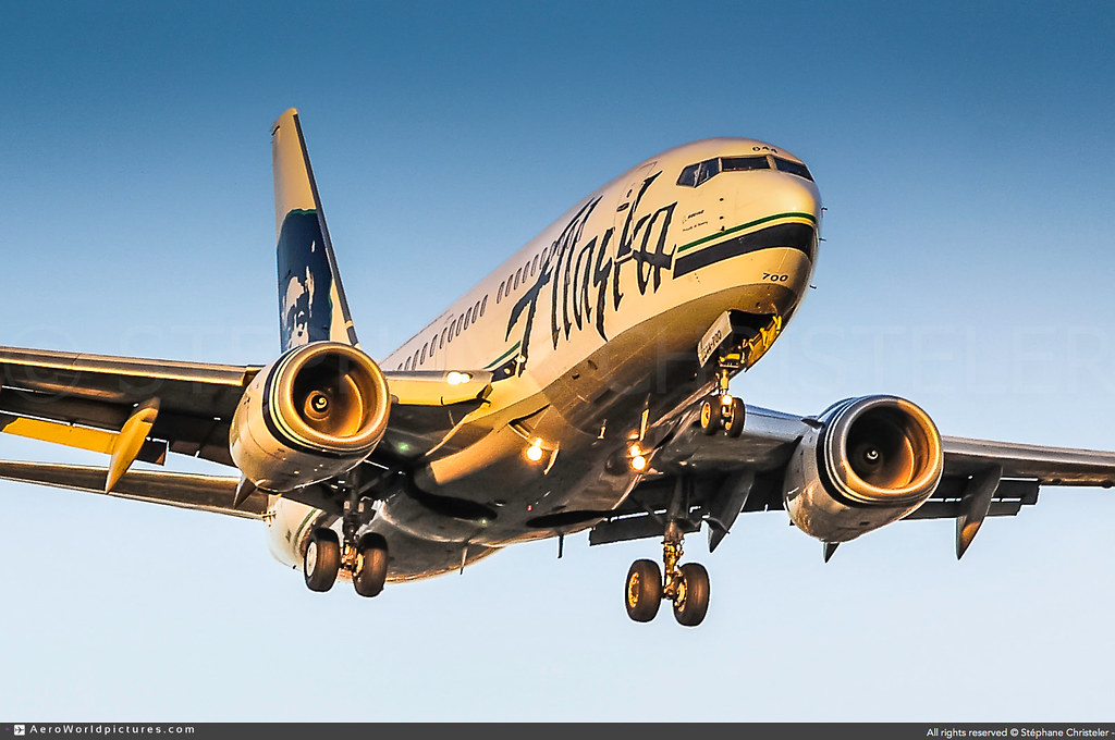 [LAX.2012] #Alaska.Airlines #AS #Boeing #B737 #N644AS #awp