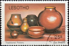 Lesotho (04) 1980 Traditional Pottery