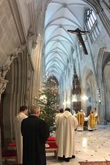 Pontifikalamt mit Propst Markus (Reichersberg) zum Wahltag von Abt Gerhard