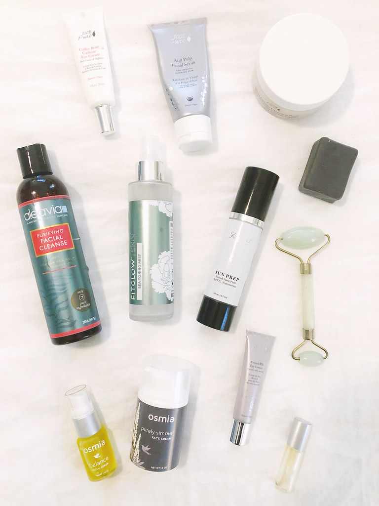 My Green Skincare Routine