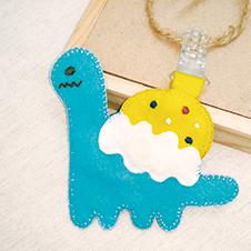 冰淇淋小恐龍造型平安符袋