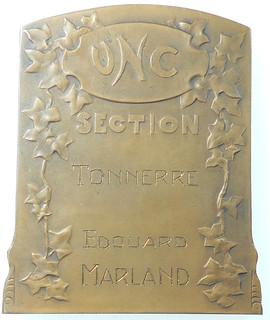 J.L. Blanchot United Front Medal reverse