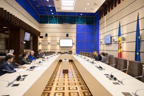 14.12.2018 Întrevederea președintelui Andrian Candu cu reprezentanții Institutului Național Democratic din Washington