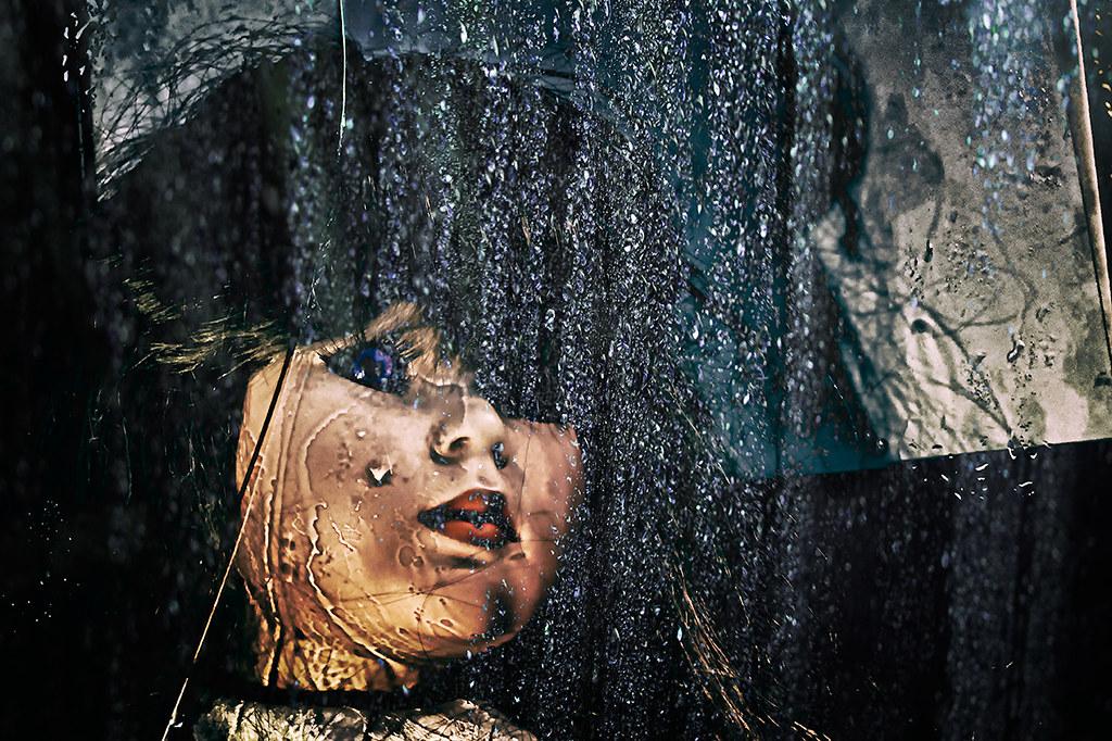 Rain Song vintage doll