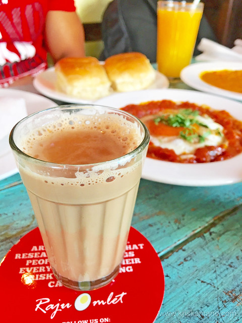 Cutting Chai from Raju Omlet