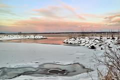 Cayuga Lake at Dusk