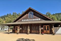 USA, la Californie, le Roaring Camp Railroads