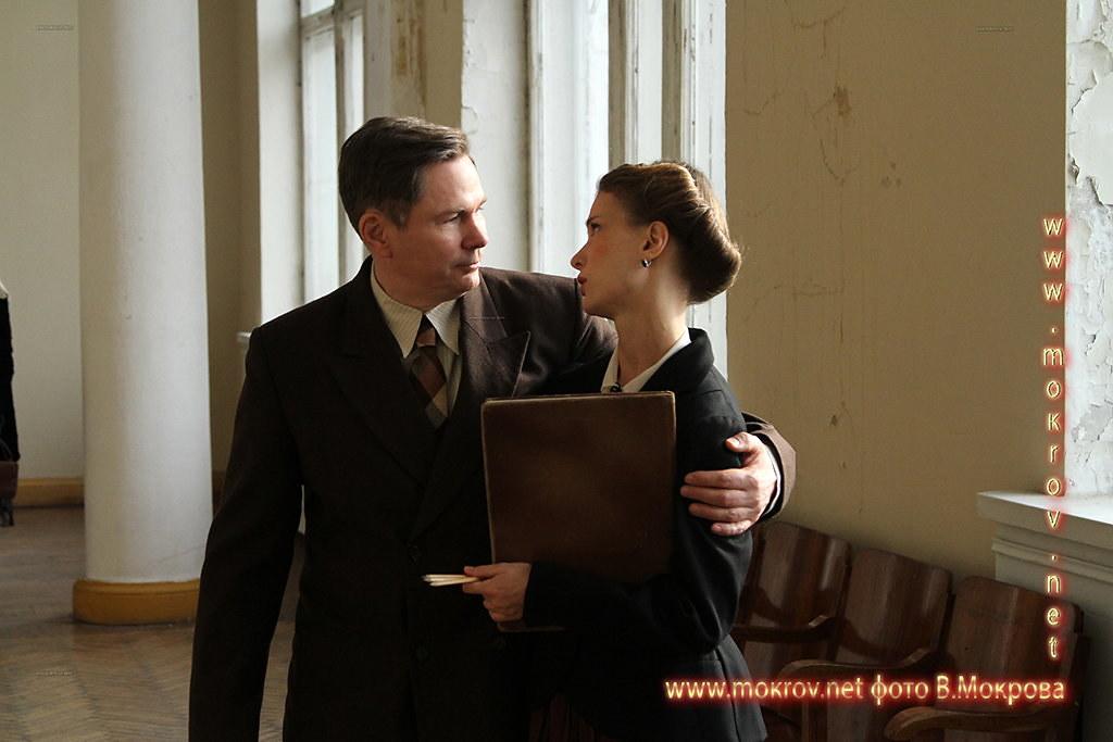 Актер - Муляр Дмитрий роль Левицкий в сериале «Декабристка» Фото