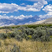 Bell Mountain and the Lemhi Range from near Wet Creek by spotwolf5