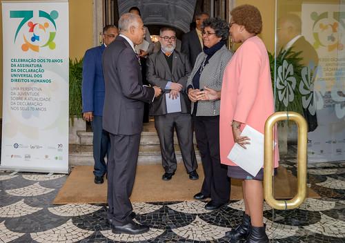 18.12. Secretária Executiva recebe cartas credenciais do Embaixador de Angola