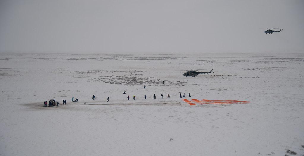 Expedition 57 Soyuz MS-09 Landing (NHQ201812200013)