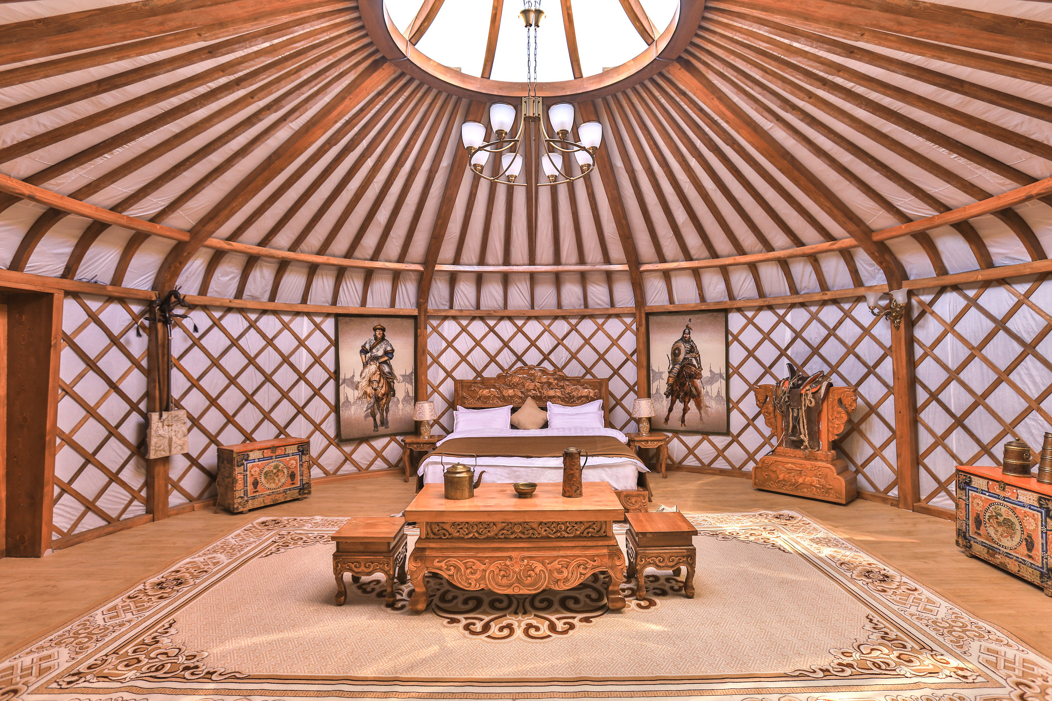 Experience Luxury in Mongolia