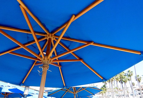 Sunbrella on the Pier