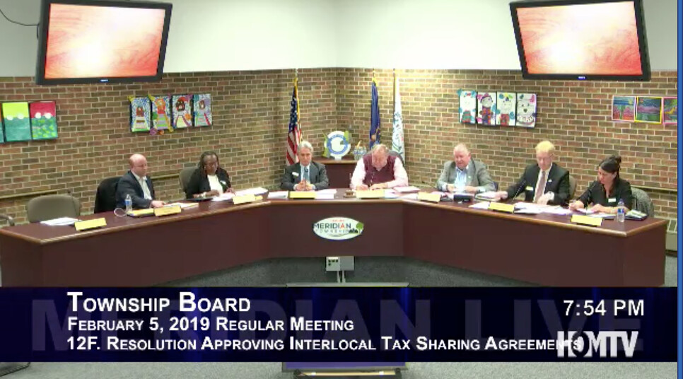 Resolution Approving Interlocal Tax Sharing Agreements Passes