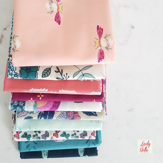 A Fabric Giveaway with Lady Belle Fabrics!
