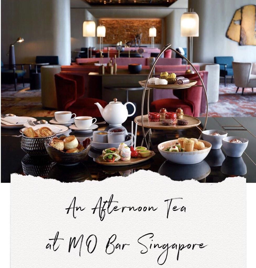 [Food & Lifestyle] Afternoon Tea at MO Bar, Mandarin Oriental Singapore