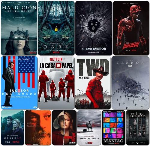 Mis series de televisión en 2018