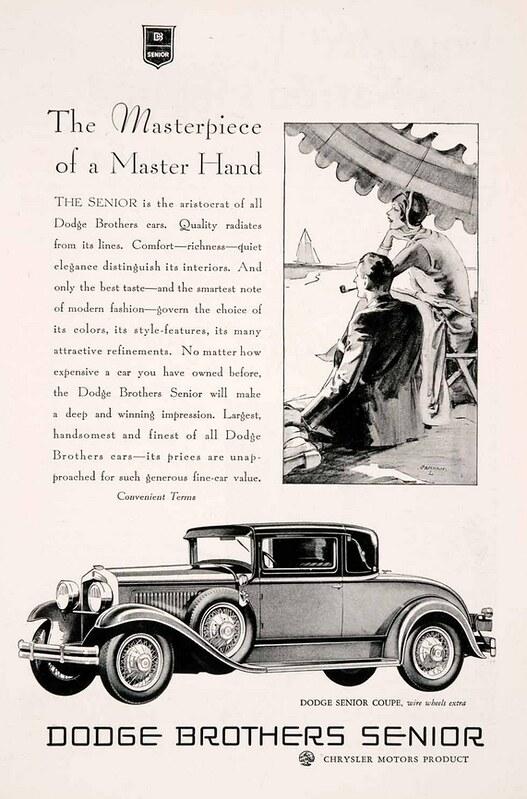 1929 Dodge Senior Coupe