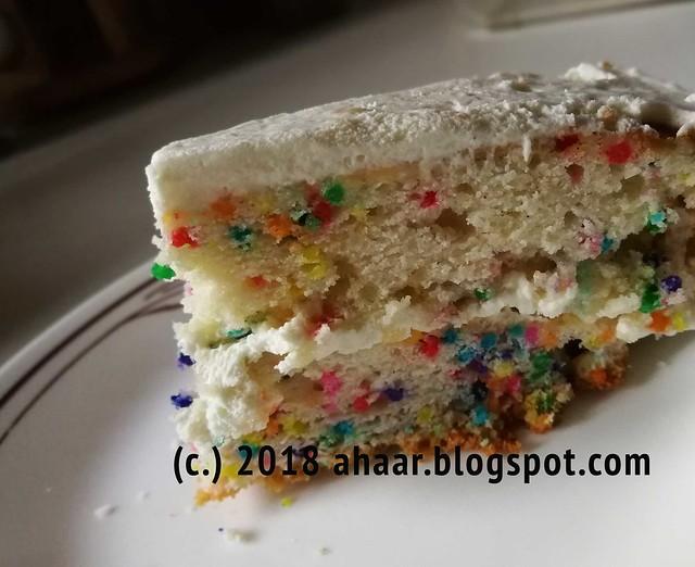 Funfetti or confetti cake