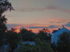 Dawn sky of Passau