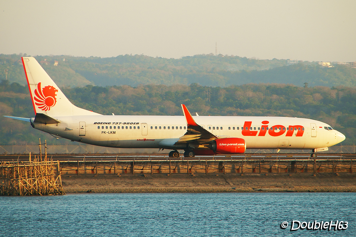 PK-LKM B738 Lion Air DPS