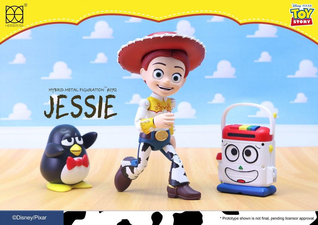 精力充沛的女牛仔來囉~ HEROCROSS H.M.F. 系列《玩具總動員》翠絲 Jessie HMF#072