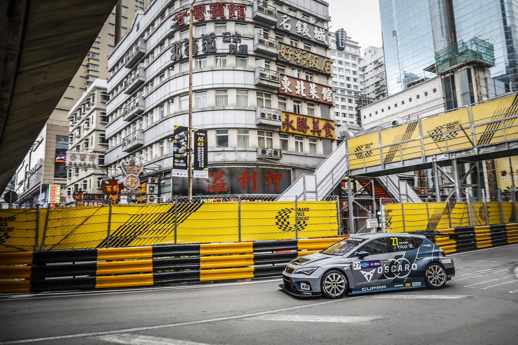 27 FILIPPI John, (fra), Seat Cupra TCR team Oscaro by Campos Racing, action during the 2018 FIA WTCR World Touring Car cup of Macau, Circuito da Guia, from november  15 to 18 - Photo Francois Flamand / DPPI