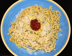 FUSILLI LUNGHI WITH AVOCADO AND SAMBAL