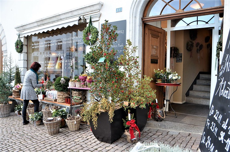 Flower Shop Hauptgasse Solothurn 24,11,2018 (2)