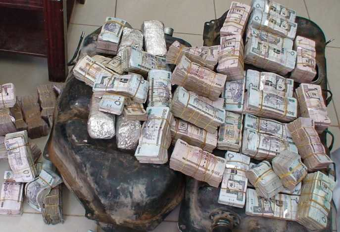 4847 Saudi Authorities recovered SR 4.5 million hidden inside the fuel tank of a vehicle 02