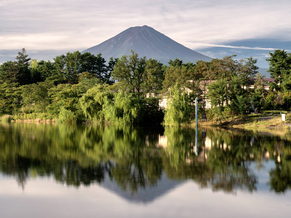 Reflections of Fuji-san