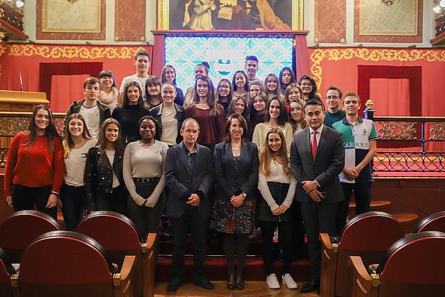 29/11/2018 - Legal Day: más de 100 estudiantes de bachiller de distintos centros conocen de cerca el mundo del derecho