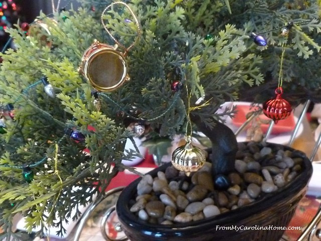 Asian Inspired Christmas Tablescape at FromMyCarolinaHome.com
